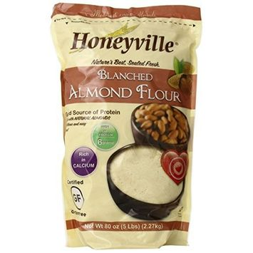 Honeyville Farms Blanched Almond Meal Flour, 5 lb