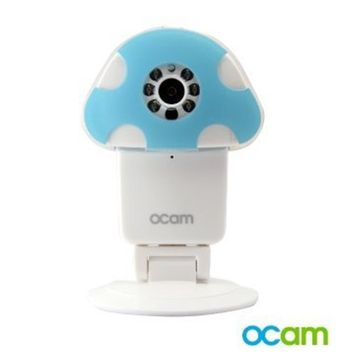 OCam-Zoo Wi-Fi Wireless Baby Monitor Security IP Video Camera & Nanny Cam DVR iPhone iPad iOS Android (Frog)