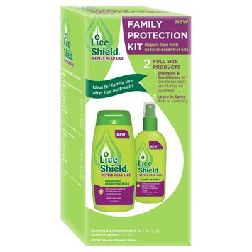 Lice Shield Family Protection Kit