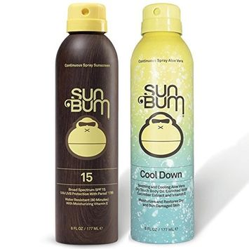 Sun Bum SPF 15 Spray Sunscreen + Aloe Spray by Sun Bum
