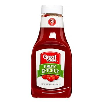 Great Value Tomato Ketchup, 38 oz
