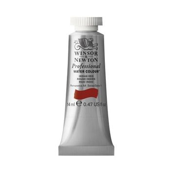 WINSOR & NEWTON / COLART 0105317 PROFESSIONAL WATER COLOUR INDIAN RED 14ML