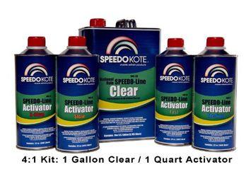 Speedokote Speedo Line Clear National Rule Gallon-SMR-95 X-Slow