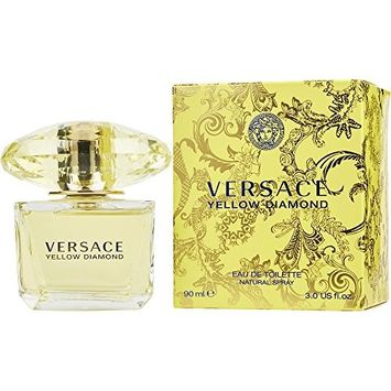 VERSACE YELLOW DIAMOND by Gianni Versace EDT SPRAY 3 OZ (Package Of 3)
