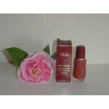 Yves Rocher Yria Tenue Parfaite Strenghening Nail Polish, 0.33 fl oz (Cerise). Imported. FRANCE.
