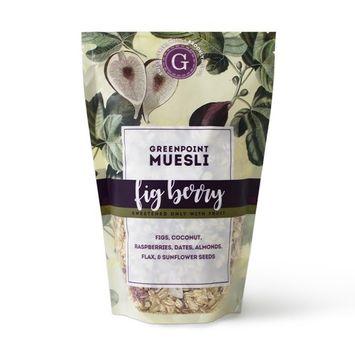 Greenpoint Muesli Raw Artisan Granola - Fig Berry, 12oz Bag