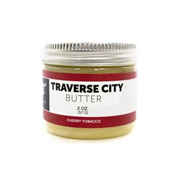 Detroit Grooming Co. - Traverse City Beard Butter - Cherry Tobacco Scent - Beard Balm - Beard Conditioner [2oz.]