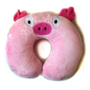 Baberoo ToddlerNecksaver, Pig, 2T-4T, 4-Count