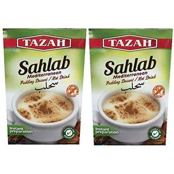 Sahlab , Mediterranean Pudding Dessert / Hot Drink (200g) 2-Pack