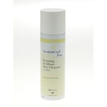 Medline MSC095326H Soothe & Cool Foaming No-Rinse Skin Cleanser, 8oz.