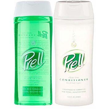 Prell Shampoo & Conditioner, 13.5 Fl Ounce