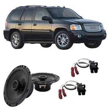 Harmony Master For Car Fits GMC S-15 Envoy 2002-2009 Front Door Replacement Harmony HA-R65 Speakers