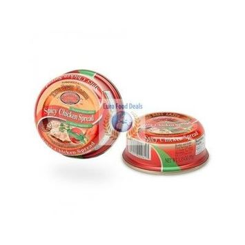 Brother and Sister The Best Taste Spicy Chicken Spread, 3.35 Ounce (Pack of 48)