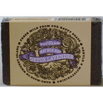 The Fay Farm's Detox Lavender Goat Milk Bar Soap - 4 Oz.