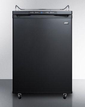 Summit Kegerator Conversion Refrigerator No Kit- Black Door