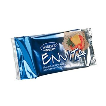 Wisbisco Envita Thin Cracker with Sesame Seeds - 4oz