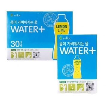 O'sulloc Water+ Healthy Slimming Drink (Lemon Lime) 2.6g x 30sticks, 1box