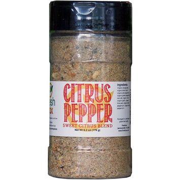 FreshJax Gourmet Spices and Seasonings, Citrus Pepper Large 6.2oz