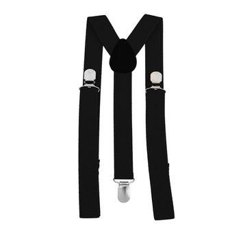 Unisex Women Men Y Shape 3 Clip Elastic Suspenders Strap Adjustable Braces