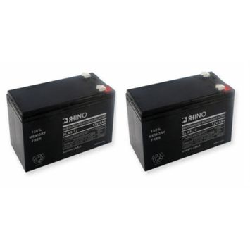 Electric Scooter Batteries (Includes 2 - 12V 9ah F1)