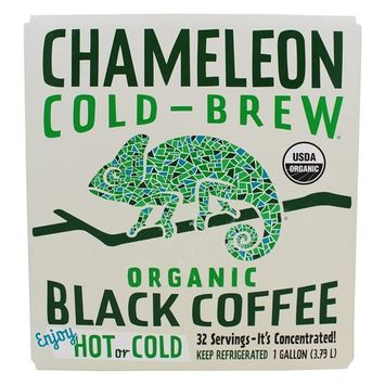 Organic Cold Brew Coffee Concentrate Black - 1 Gallon