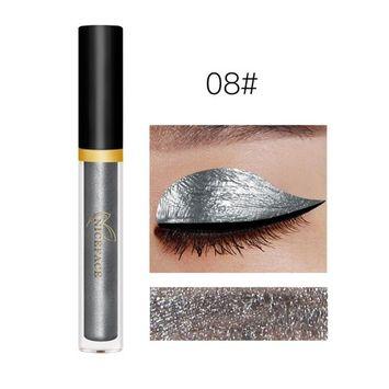 DZT1968 17 colors portable Metallic Smoky eyeliner Eyeshadow water-tight Glitter Liquid Eyeliner & Eyeshadow Pen