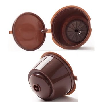 Refillable Nescafe Dolce Gusto Capsules Reusable Pods Filters Cup Pack of Qty 2