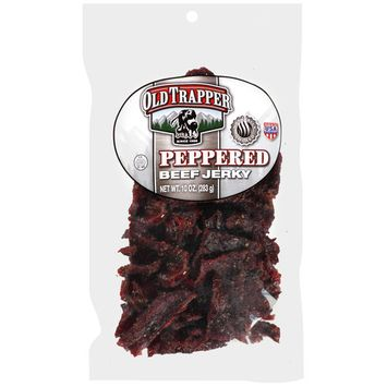 Trapper Peppered Beef Jerky, 10 oz