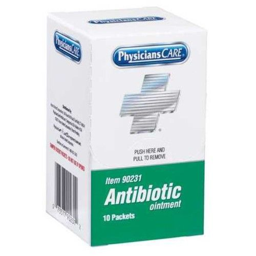 PHYSICIANSCARE 90231G Triple Antibiotic, Packet, 0.9g, PK 10
