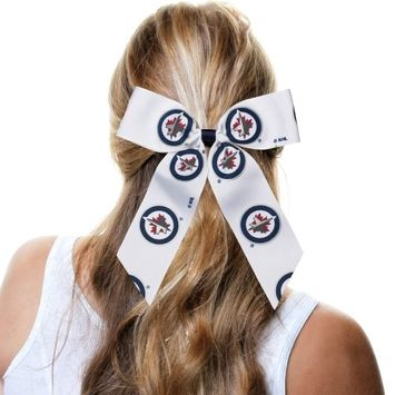 Winnipeg Jets Cheer Ponytail Holder - No Size