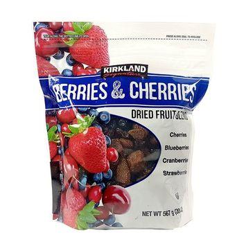 Kirkland Signature Berries & Cherries Dried Fruit Blend 20 oz, 20 oz