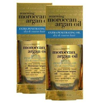 OGX Extra Strength Moroccan Argan Oil Penetrating Hair Oil 3.3oz.