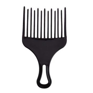 Jocestyle Insert Hair Pick Comb Wide Comb Teeth Hair Fork Brush for Curly Hair