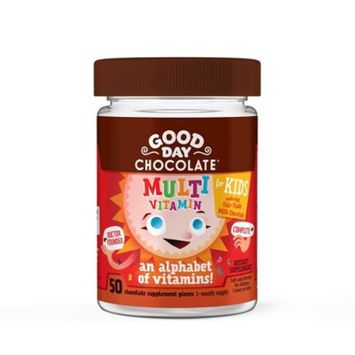Kid's Good Day Chocolate Multivitamin Chewables - 50ct
