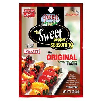 Pero Family Farms Mini Sweet Pepper Original Seasoning, 1 oz(us)