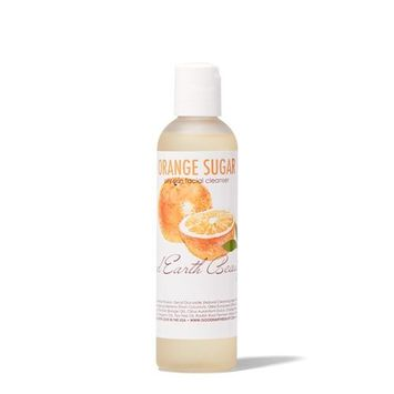 Good Earth Beauty Natural Facial Cleanser Orange Sugar - for Oily Acne Prone Skin - 4 Ounce