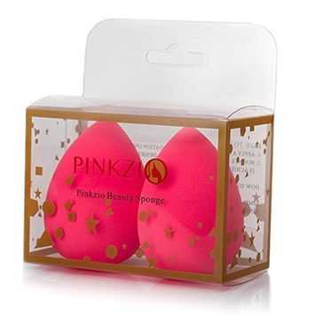 Pinkzio Cosmetic Beauty Makeup Sponge Blender For Foundation, Contour, Concealer And Highlight. Latex Free Super Soft Beauty Sponge Blender Applicator For Cream, Powder And Liquid- (2 pcs )