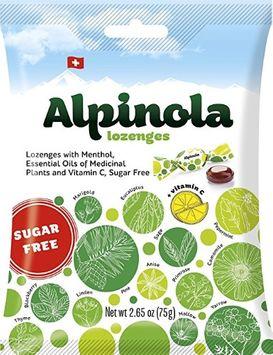 Alpinola Sugar-Free Lozenges, 2.65 Oz