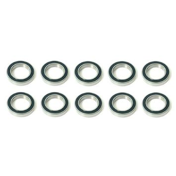 Volar Motorsport 10x 6007 2RS Rubber Sealed Deep Groove Ball Bearings - 35x62x14mm