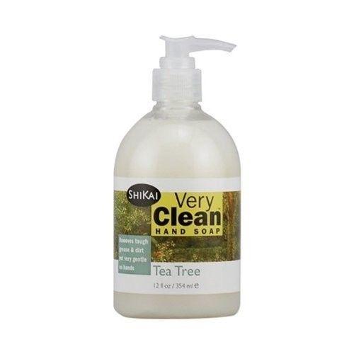 Shikai Products Tea Tree Very Clean Hand Soap 360 ml by ShiKai