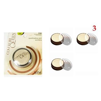 (Pack of 3) - CoverGirl Queen Collection Eye Shadow, Q160 Shimmering Sands : Beauty