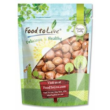 Food to Live Hazelnuts / Filberts (Raw, No Shell) (1 Pound)