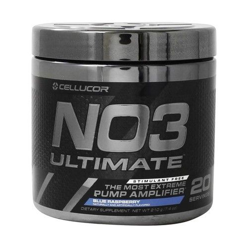 NO3 Ultimate Extreme Pump Amplifier Powder Blue Raspberry - 210 Grams