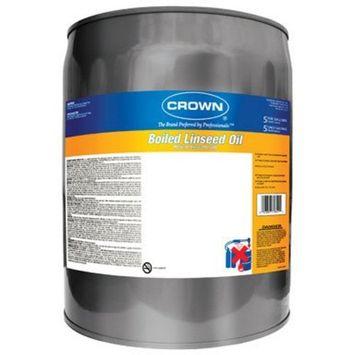 Crown Boiled Linseed Oil Alkyd 5 Gl