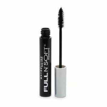 Maybelline Full 'N Soft Mascara, Very Black 0.28 oz / 8.2 ml