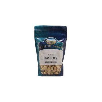 Shiloh Farms Whole Raw Cashews -- 11 oz