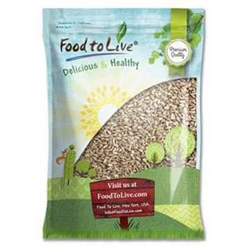 Food to Live Sunflower Seeds (Raw, No Shell) (8 Pounds)