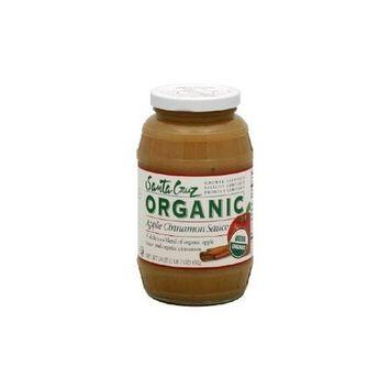 Santa Cruz Organic Apple Cinnamon Sauce, 23 Ounce