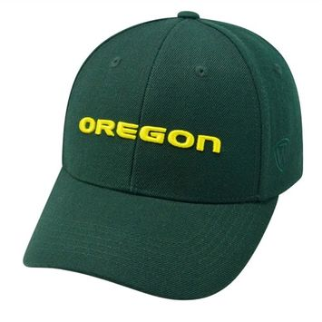 Adult Top of the World Oregon Ducks Premium Collection One-Fit Cap