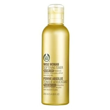 The Body Shop Wise Woman Softening Toner for Mature Skin, 200 ml / 6.7 US FL OZ